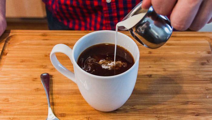 la crema de café