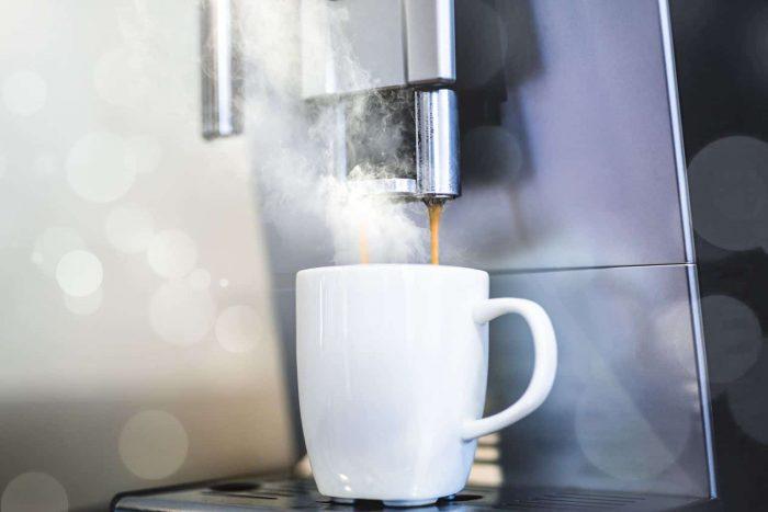 máquina de café expreso
